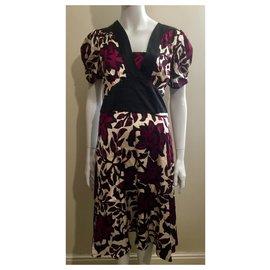 Temperley London-Multicoloured silk dress Temperley London-Multiple colors