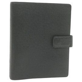 Louis Vuitton-Louis Vuitton Couverture agenda de bureau-Black