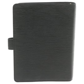 Louis Vuitton-Louis Vuitton Agenda Cover-Black