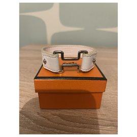 Hermès-Bracelets-White