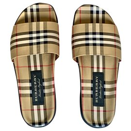 Burberry-Burberry Check sandals-Other
