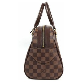 Louis Vuitton-Louis Vuitton Duomo Womens handbag N60008 damier ebene-Damier ebene