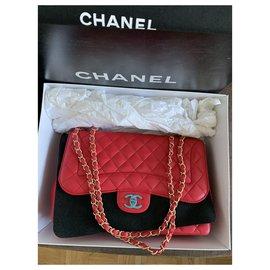 Chanel-Jumbo Classic Chanel-Pink