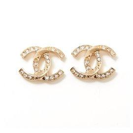 Chanel-Chanel CC earring-Golden