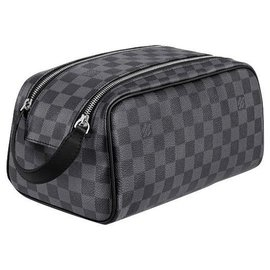 Louis Vuitton-LV Dopp toilet kit pouch-Grey