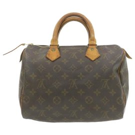Louis Vuitton-Louis Vuitton Speedy 25-Brown