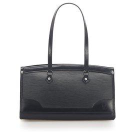 Louis Vuitton-Louis Vuitton Black Epi Madeleine PM-Black