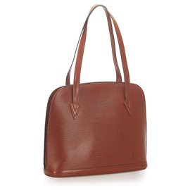 Louis Vuitton-Louis Vuitton Brown Epi Lussac-Brown