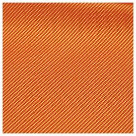 Hermès-Hermes Orange Silk Scarf-Orange