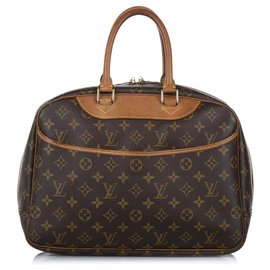 Louis Vuitton-Louis Vuitton Brown Monogram Deauville-Brown,Light brown
