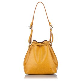 Louis Vuitton-Louis Vuitton Brown Epi Petit Noe-Brown,Light brown