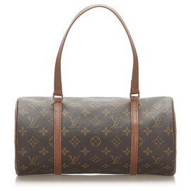 Louis Vuitton-Louis Vuitton Brown Monogram Papillon 30-Brown,Dark brown