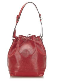 Louis Vuitton-Louis Vuitton Red Epi Noe-Red