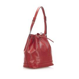 Louis Vuitton-Louis Vuitton Red Epi Noe-Red