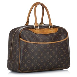 Louis Vuitton-Louis Vuitton Brown Monogram Deauville-Brown,Light brown