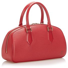 Louis Vuitton-Louis Vuitton Red Epi Leather Jasmin-Red