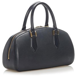 Louis Vuitton-Louis Vuitton Black Epi Leather Jasmin-Black