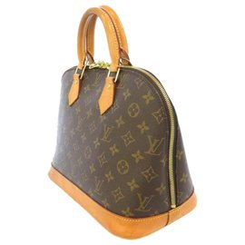 Louis Vuitton-Louis Vuitton Brown Monogram Alma PM-Brown