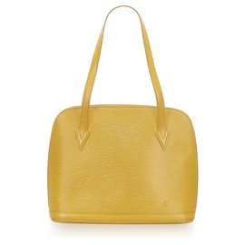 Louis Vuitton-Louis Vuitton Yellow Epi Lussac-Yellow