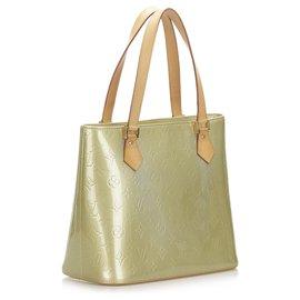 Louis Vuitton-Louis Vuitton Green Vernis Houston-Green,Light green