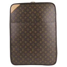 Louis Vuitton-Louis Vuitton Brown Monogram Pegase 55-Brown