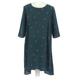 Des Petits Hauts-robe-Dark green