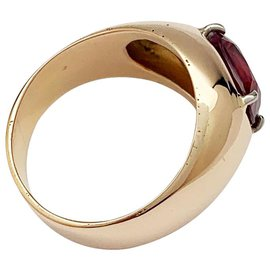 inconnue-English bangle rose gold, ruby mozambique 2.53 Cts.-Other
