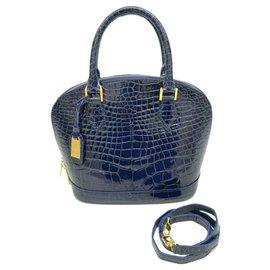 Louis Vuitton-Louis Vuitton Lockit-Blue
