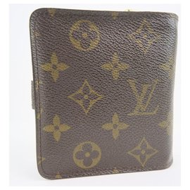 Louis Vuitton-Louis Vuitton Compact zip-Brown