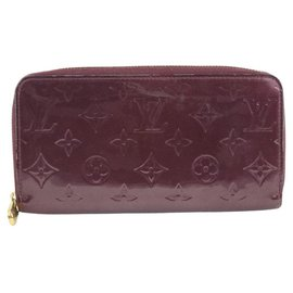 Louis Vuitton-Louis Vuitton Portefeuille zippy-Red