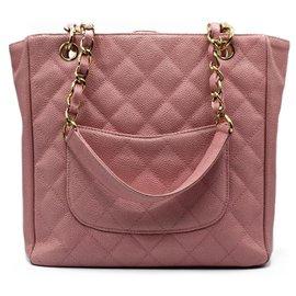 Chanel-Handbags-Pink