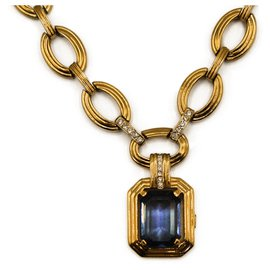 Dior-Necklaces-Gold hardware