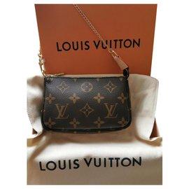 Louis Vuitton-mini monogram accessory pouch-Brown