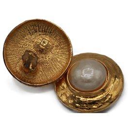 Yves Saint Laurent-Earrings-Gold hardware