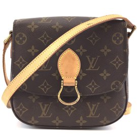 Louis Vuitton-Louis Vuitton Saint Cloud MM Monogram Canvas-Brown