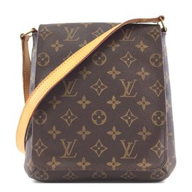 Louis Vuitton-Louis Vuitton Musette Salsa PM Monogram Canvas-Brown