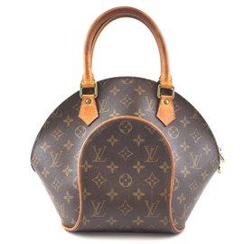 Louis Vuitton-Louis Vuitton Ellipse PM Monogram Canvas-Brown