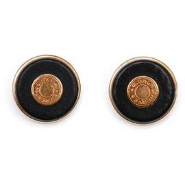 Hermès-Earrings-Black