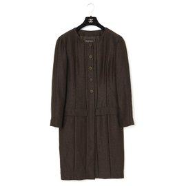 Chanel-FW99 BROWN NATTE FR42-Dark brown