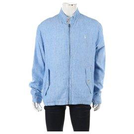 Polo Ralph Lauren-Blazers Jackets-White,Blue
