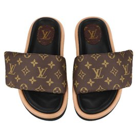 Louis Vuitton-LV mules new-Brown