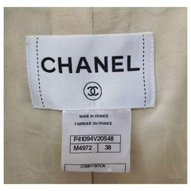 Chanel-Chanel 11P Ostrich Feathers Embellished Jacket Sz.38-Multiple colors