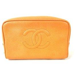 Chanel-Chanel clutch bag-Orange