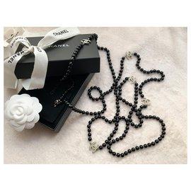 Chanel-Iconic long necklace CC Le 5-Black