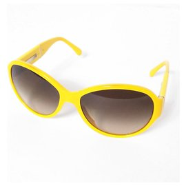 Chanel-Chanel Glasses-Yellow