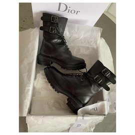 Christian Dior-Ankle Boots-Black