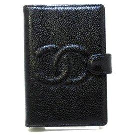 Chanel-Chanel Couverture agenda-Black
