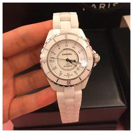 Chanel-Chanel J watch12 38MM-White
