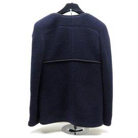 Chanel-Jacket-Navy blue