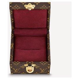 Louis Vuitton-Coffret de déclaration LV Ecrin-Bordeaux